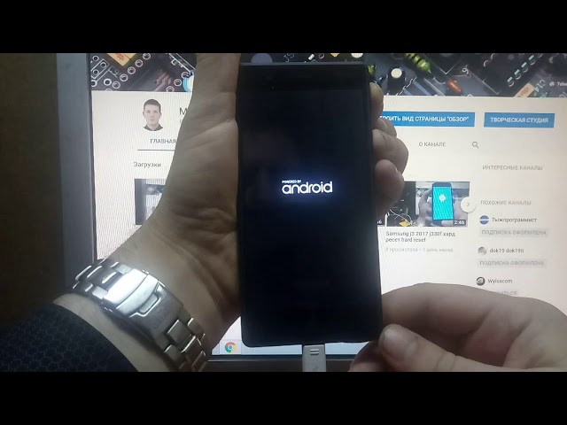 Nokia 3, 5, 6 2017 хард ресет hard reset android 7.1.1