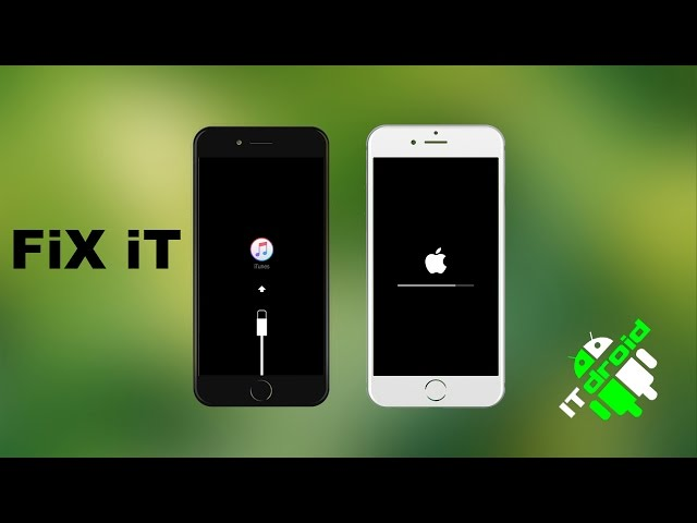 Как восстановить iphone 4,5,6,7,8,X Apple iphone restore firmware FIX